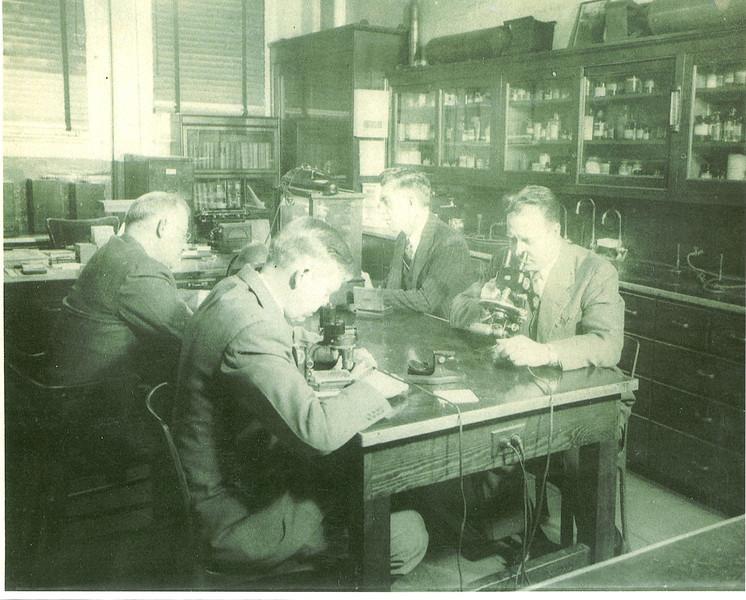 1940's ipd crime lab
