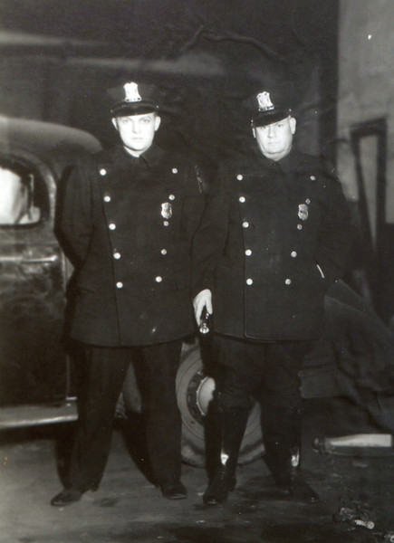 1940's police officers