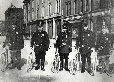 1910's Bicycle Officers