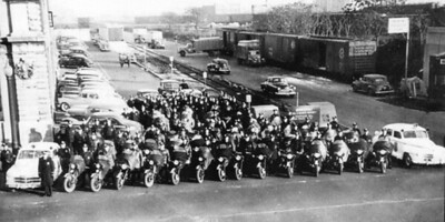 1953 Traffic Branch at HQ