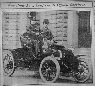 1900's Police Vehicle