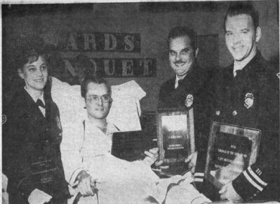 1968 IPD Officer receiving award