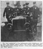 1900's police vehicle w officers