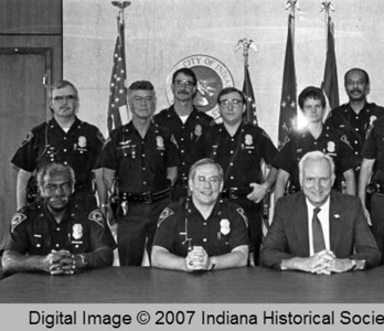 Command Staff October 1 1986