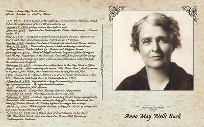 Anna May Wells Buck Display