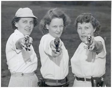 L-R: Alberta Batic, Betty Meagher, Irma Lesley