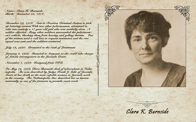 Clara Burnside Display