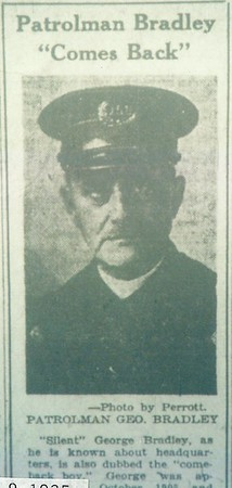 George Bradley 3-9-1925