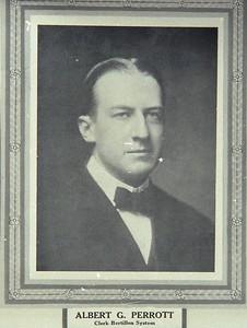Albert G Perrott 1913 photograph