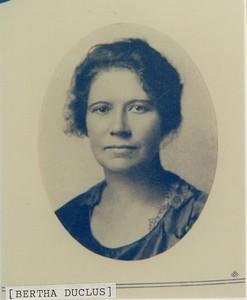 Bertha Duclus BL