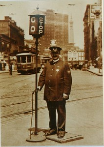 1918 Traffic officer Bl
