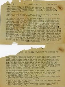 Battle of Elder Avenue Police Report page 1
