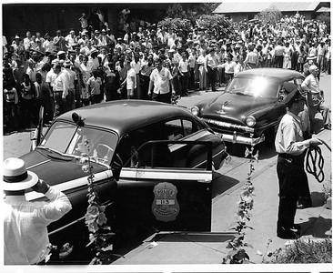Elder Avenue 6-30-1954 Aftermath and Crowd