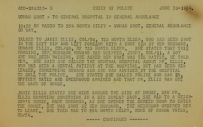 Battle of Elder Avenue Police Report page 6