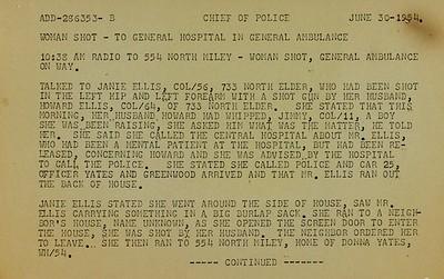 Battle of Elder Avenue Police Report page 6