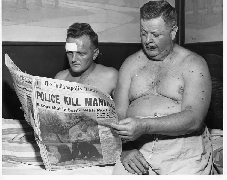 Elder Avenue 6-30-1954 Dora Ward and Paul Pearsey