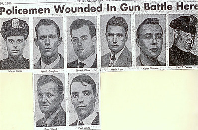 Eight officers wounded in Battle of Elder Avenue