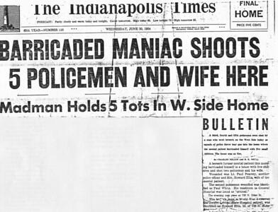Battle of Elder Avenue headline