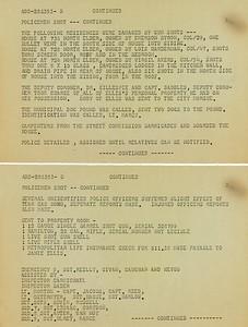 Battle of Elder Avenue Police Report page 3
