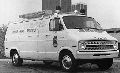 Mobile Crime Lab Van 1972