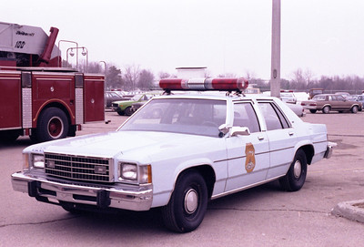 Early 80's police car