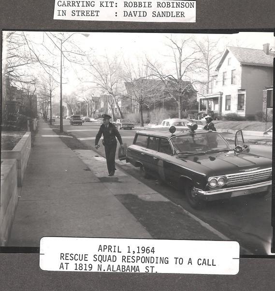 1964 rescue squad on run