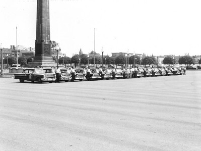 1950's IPD Police Vehicles
