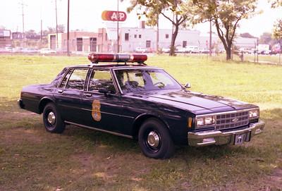 1982 police car