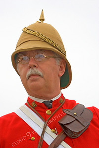 HR-BE 00005 A British Empire soldier historical reenactor, by Peter J Mancus