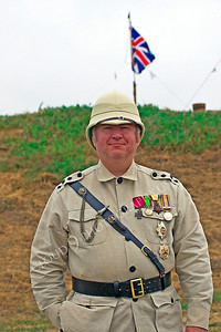HR-BE 00007 A British Empire soldier historical reenactor, by Peter J Mancus