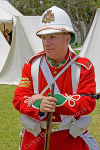 HR-BE 00009 A British Empire soldier historical reenactor, by Peter J Mancus