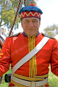 HR-FNES 00003 A French Napoleonic Era French army soldier historical reenactor, by Peter J Mancus