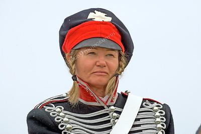 HR-PCAV 00008 A female Prussian cavalry historical reenactor, by Peter J Mancus