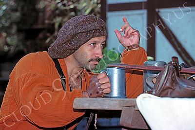 HR-RME 00014 A Renaissance Medieval Europe era historical reenactor man, by Peter J Mancus