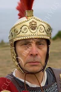 HR-RL 00015 A Roman Legion commander reenactor with a stern, no mercy, look, by Peter J Mancus