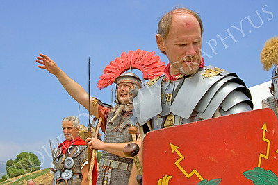 HR-RL 00024 Roman Legion historical reenactor soldiers, by Peter J Mancus