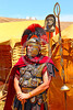HR-RL 00365 Portrait of a senior Roman Legion commander with a fancy helmet and medals, Roman Legion historical re-enactor by Peter J  Mancus