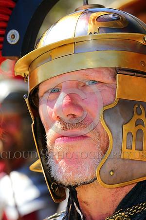 HR-RL 00397 A portrait of a blue eye Roman Legion commander, Roman Legion historical re-enactor by Peter J  Mancus