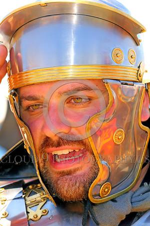 HR-RL 00407 Portrait of a Roman Legion warrior, Roman Legion historical re-enactor by Peter J  Mancus