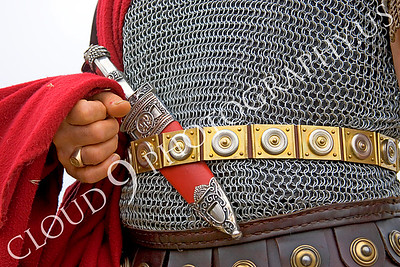 HR-RL 00022 A Roman Legion commander reenactor's dagger, by Peter J Mancus