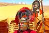 HR-RL 00404 Portrait of a senior Roman Legion commander with a fancy helmet, Roman Legion historical re-enactor by Peter J  Mancus