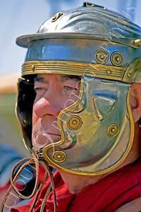HR-RL 00011 A serious Roman Legion historical reenactor soldier, by Peter J Mancus