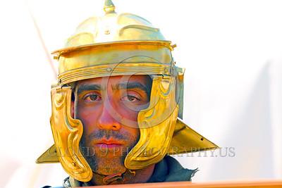 HR-RL 00408 A portrait of a Roman Legion warrior, Roman Legion historical re-enactor by Peter J  Mancus