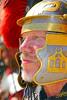 HR-RL 00313 Portrait of a Roman Legion commander with a fancy helmet, Roman Legion historical re-enactor picture by Peter J  Mancus