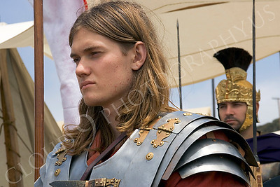 HR-RL 00004 A young Roman Legion historical reenactor soldier, by Peter J Mancus