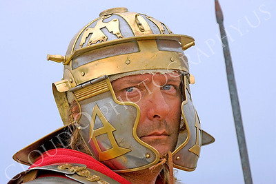 HR-RL 00008 A Roman Legion historical reenactor soldier, by Peter J Mancus