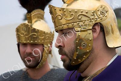 HR-RL 00028 Two Roman Legion soldier reenactors, by Peter J Mancus