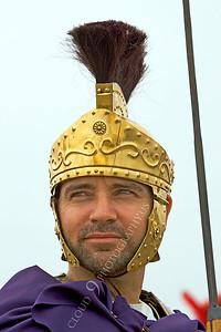 HR-RL 00025 A Roman Legion historical reenactor commander, by Peter J Mancus