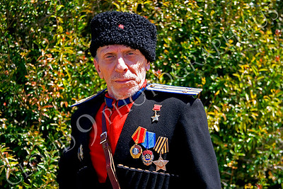 HR-RC 000004 A Russian cossack historical reenactor, by Peter J Mancus