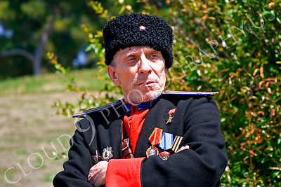 HR-RC 000002 A Russian cossack historical reenactor, by Peter J Mancus